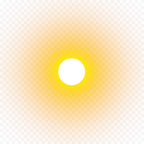 Real Sun yellow circle background