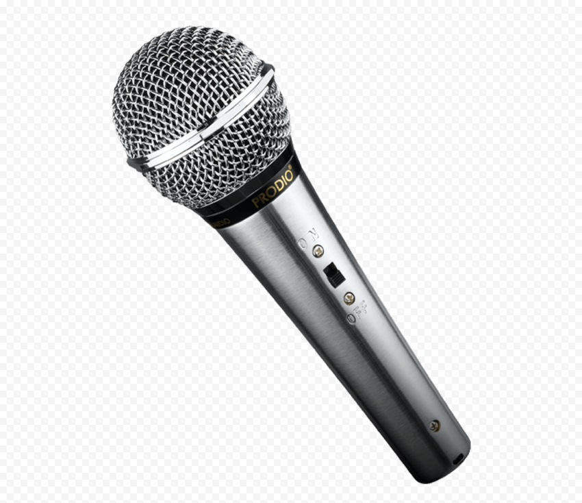 Real Wireless Dynamic Microphone Mic PNG IMG