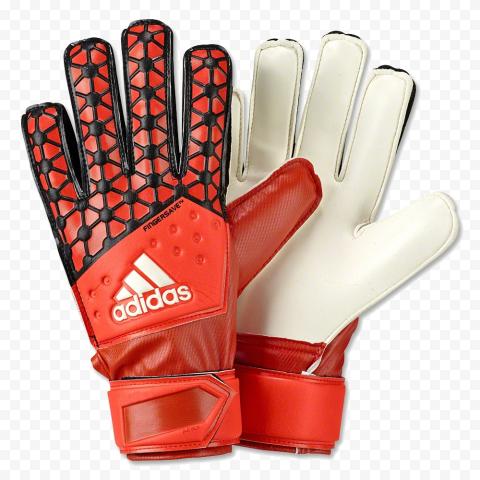 Red Gloves Goalkeeper Adidas Football Soccer