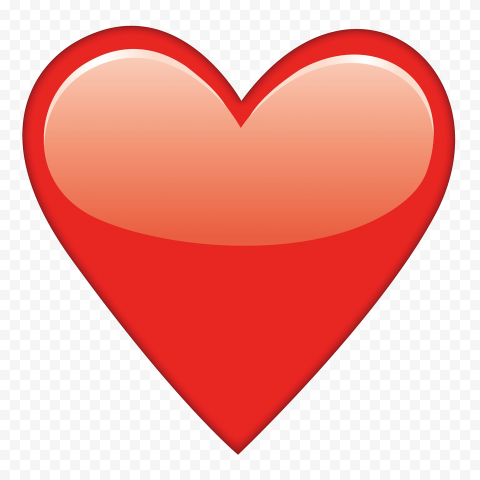 Red Heart Emoji WhatsApp Emoticon Love