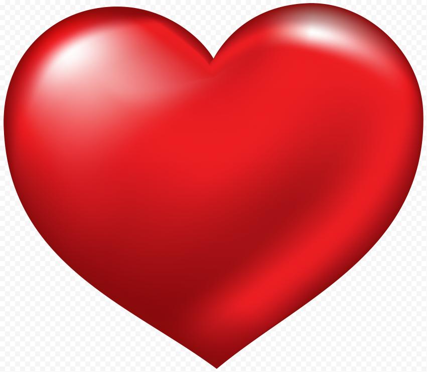 Red Heart Love Emoji Romantic