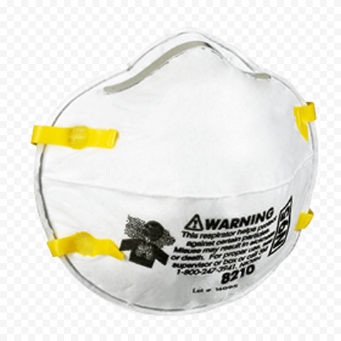 Respirator N95 Mask Air Pollution 8210