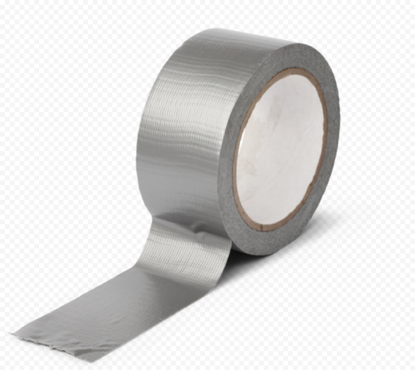 Roll Gray Adhesive Tape Duct Gaffer Scotch