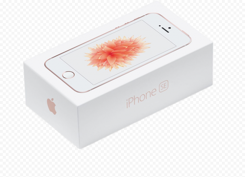 Rose Gold Apple iPhone SE Box