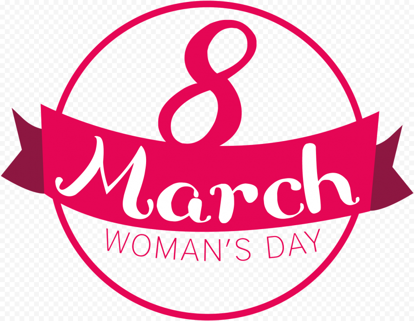 Round 8 March Pink Badge Women'S Day