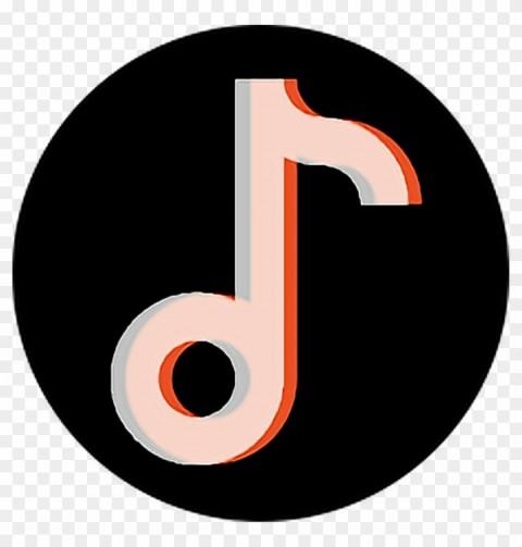 Round Tik Tok Logo Icon Citypng