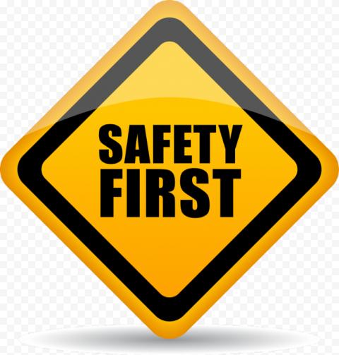 Safety First Sign Workshop Symbol Construction