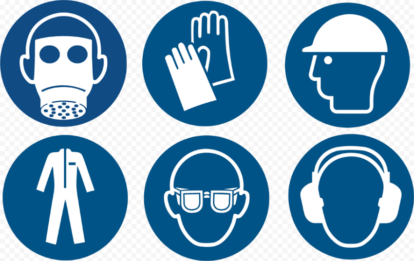 Safety Personal Protective Equipment PPE Signs
