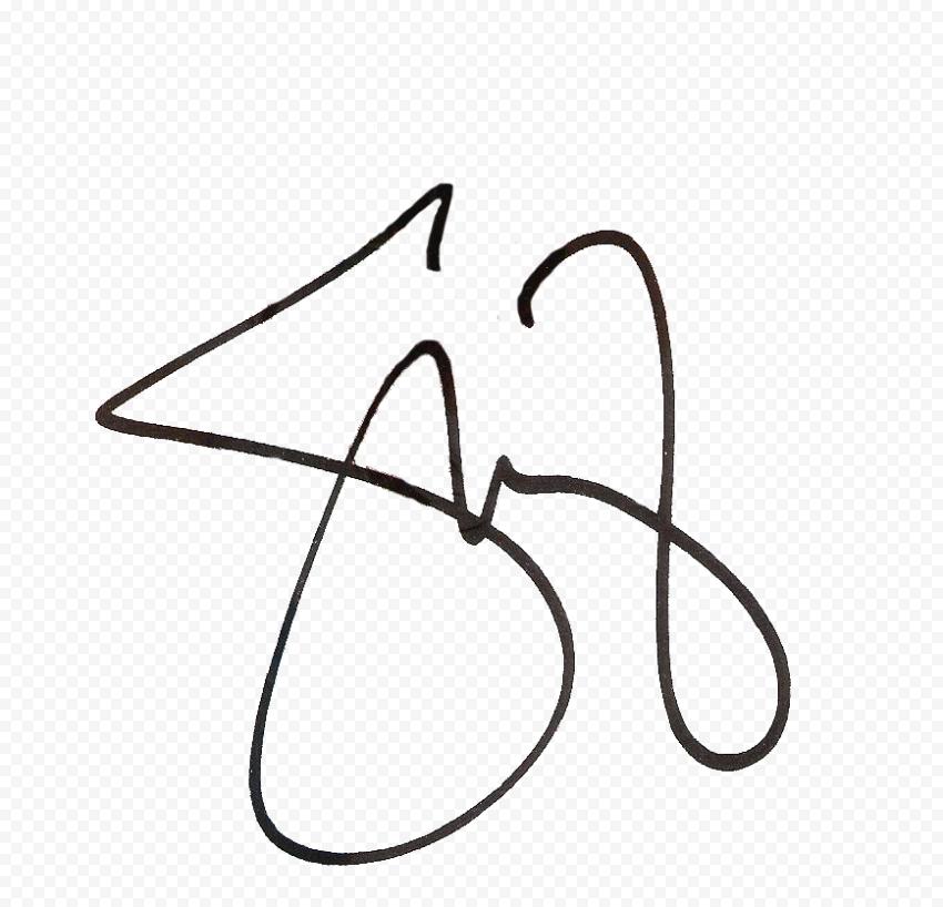 Selena Gomez Signature HD Transparent