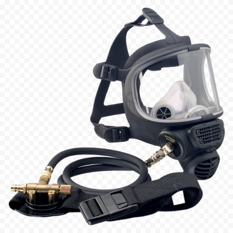 Snorkel Breathing Mask Respirator Dust Black