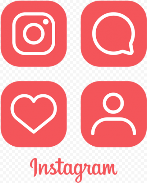 square instagram likes logo follower comment red citypng square instagram likes logo follower