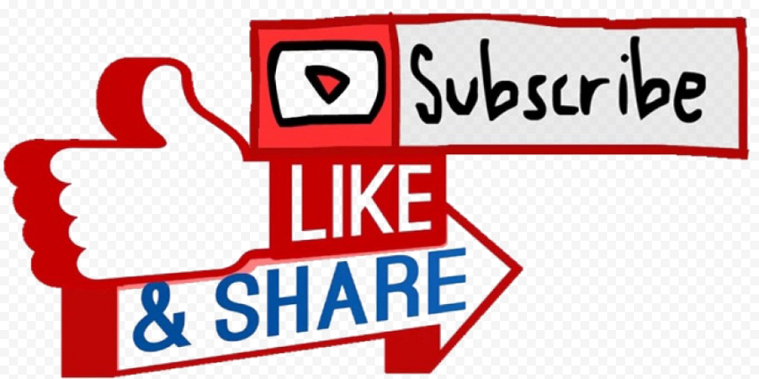 Subscribe Like Share Button Youtube
