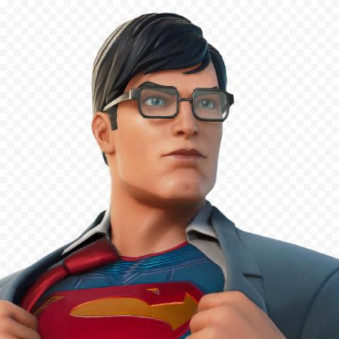 Superman Fortnite Character PNG