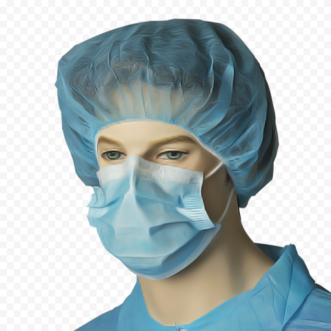 Surgical Mask Cap Face Nose Mouth Bouffant Hair