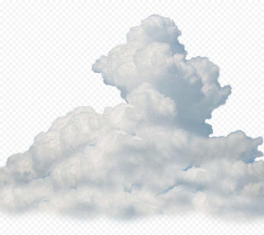 Transparent HD White Clouds Smoke