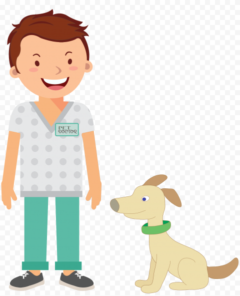 Veterinarian Animal Pet Doctor Dog Icon