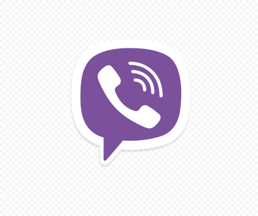 Viber Icon Logo Bubble