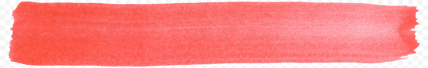 Watercolor Red Brush Stroke Banner PNG