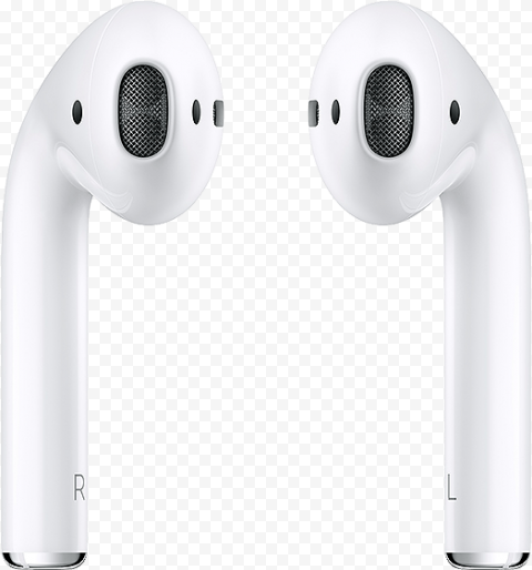 White Apple Airpods Clear Background