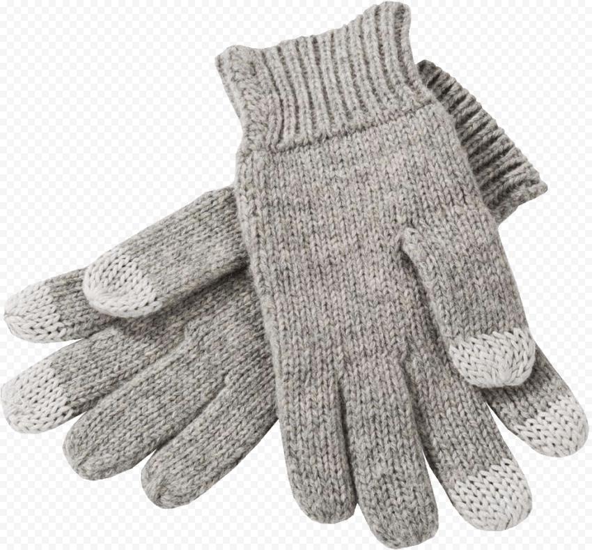 Woolen Gloves Winter Snowflake Cold Beige