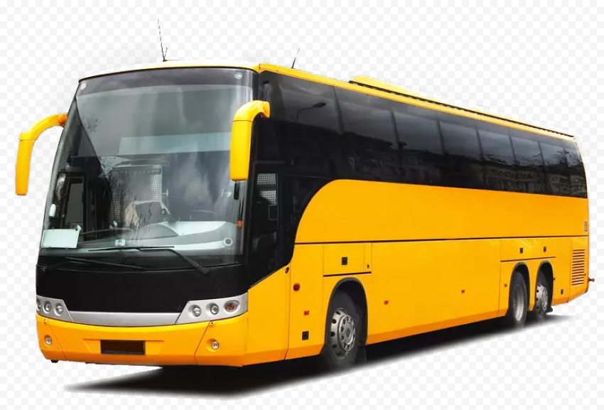 Yellow Bus Multi Axle