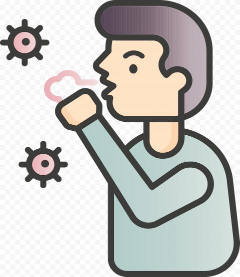 cough icon png transparent cutout png clipart images citypng cough icon png transparent cutout png