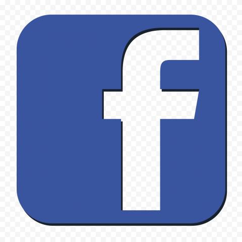 Blue White Fb Facebook Logo Icon Button Citypng